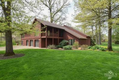 Delaware County Single Family Home For Sale: 4901 North Weir Drive
