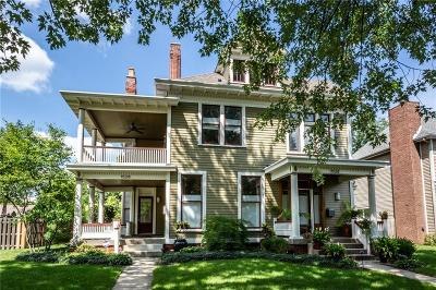 Indianapolis Single Family Home For Sale: 1526 North Park Avenue #1526