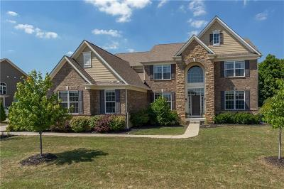Zionsville Single Family Home For Sale: 11550 Indian Hill Way