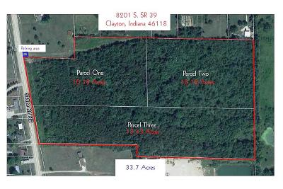 Hendricks County Residential Lots & Land For Sale: 8201 South Sr 39