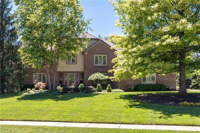 Carmel Single Family Home For Sale: 5339 Woodfield Drive N