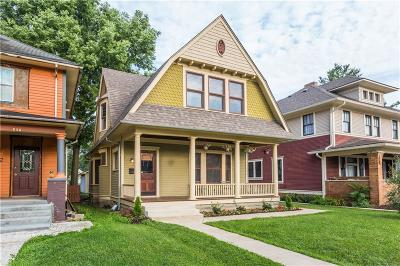 Indianapolis IN Single Family Home For Sale: $325,000