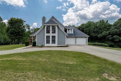 Martinsville Single Family Home For Sale: 4205 Ballinger Road