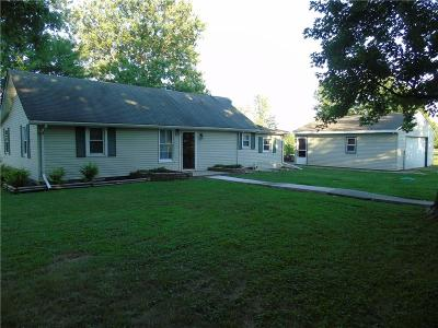 Delaware County Single Family Home For Sale: 13301 West Bethel Avenue