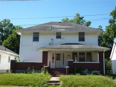 Anderson Single Family Home For Sale: 1023 West 7th Street