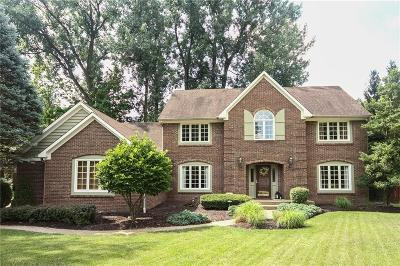 Indianapolis Single Family Home For Sale: 8134 Bowline Court