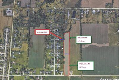 Camby Residential Lots & Land For Sale: 7951 West Cedar Road