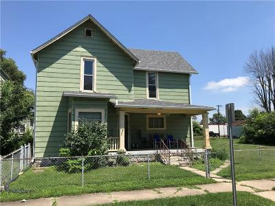 Anderson IN Single Family Home For Sale: $38,500