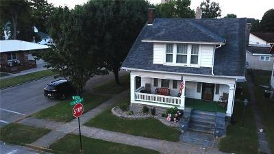 Rushville Single Family Home For Sale: 401 West 5th Street