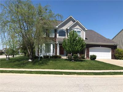 Brownsburg Single Family Home For Sale: 1481 Berry Lake Way