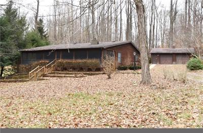 Owen County Single Family Home For Sale: 1174 Lakeside Drive