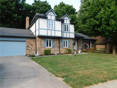 Indianapolis Single Family Home For Sale: 8702 Chapel Glen Drive
