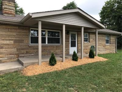 Mooresville Single Family Home For Sale: 5064 East Centenary Road