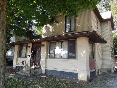 Delaware County Multi Family Home For Sale: 517 North Wheeling Avenue
