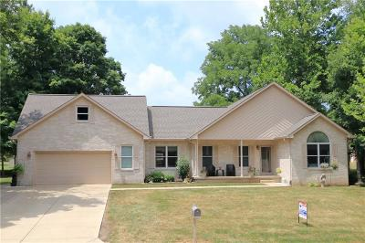 Camby Single Family Home For Sale: 12696 North Waters Edge Court