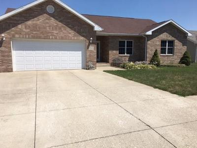 Delaware County Single Family Home For Sale: 7816 West Frankie Drive