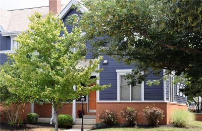 Indianapolis Condo/Townhouse For Sale: 1557 North College Avenue #1
