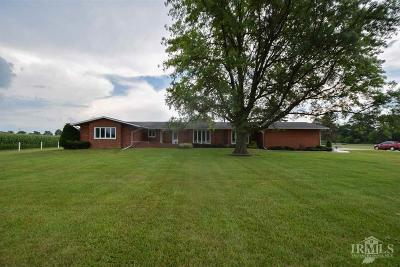 Delaware County Single Family Home For Sale: 8710 North State Road 3