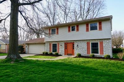 Delaware County Single Family Home For Sale: 2709 West Riggin Road