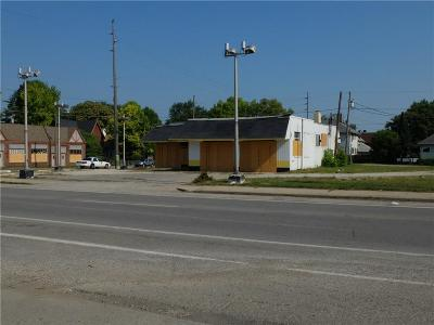 Indianapolis Commercial For Sale: 2810 East New York Street