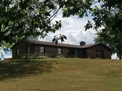 Delaware County Single Family Home For Sale: 11101 East Gregory Road