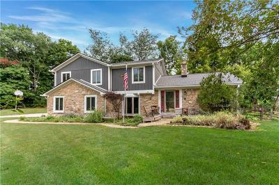 Brownsburg Single Family Home For Sale: 10372 Pineway Drive