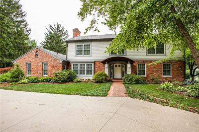 Indianapolis Single Family Home For Sale: 8162 Round Hill Court