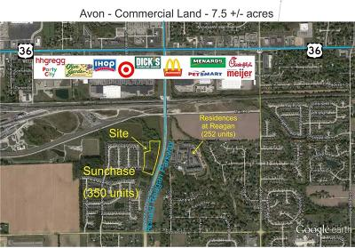 Avon Commercial Lots & Land For Sale: 50? South Ronald Reagan Parkway