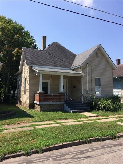 Shelbyville Single Family Home For Sale: 413 2nd Street