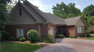 Boone County, Clinton County, Hamilton County, Hendricks County, Madison County Condo/Townhouse For Sale: 4031 Fallbrook Lane