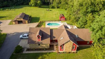 Mooresville Single Family Home For Sale: 6178 East State Road 144