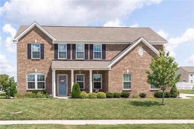 Brownsburg Single Family Home For Sale: 10630 Haven Drive
