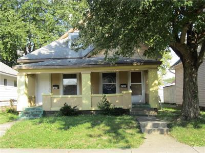 Indianapolis Single Family Home For Sale: 1529 Hiatt