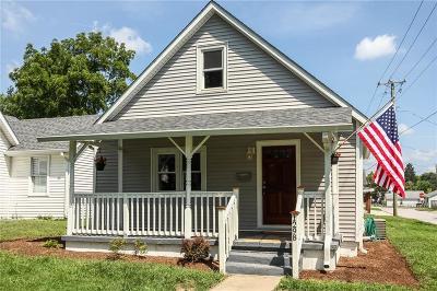 Noblesville Single Family Home For Sale: 1298 Washington Street