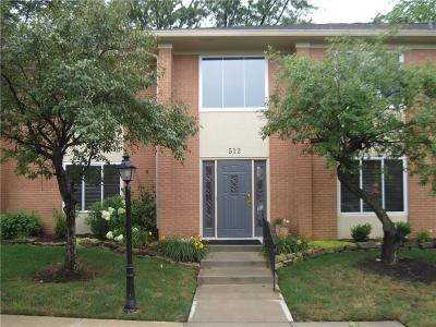 Carmel Condo/Townhouse For Sale: 512 Hunters Drive #D