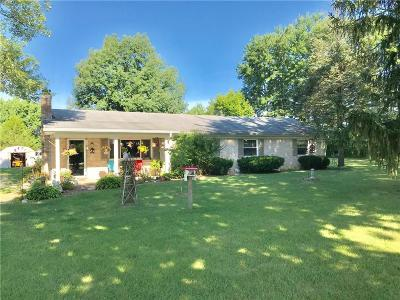 Zionsville Single Family Home For Sale: 3950 South 950 E