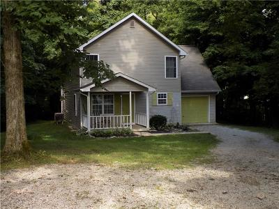 Greencastle IN Single Family Home For Sale: $199,000