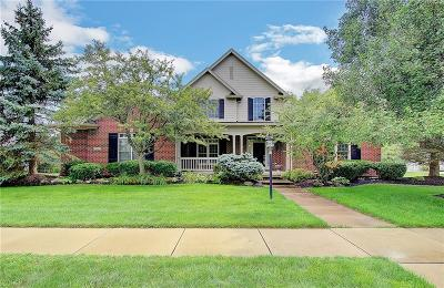 Zionsville Single Family Home For Sale: 9889 Buttondown Lane