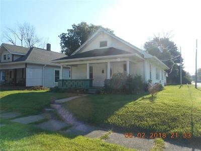 Henry County Single Family Home For Sale: 1430 South 20th Street