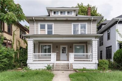 Indianapolis Single Family Home For Sale: 2849 North Capitol Avenue