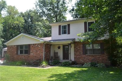 Montgomery County Single Family Home For Sale: 4123 West 650 N