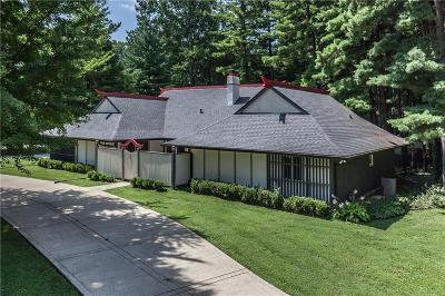indianapolis Single Family Home For Sale: 7622 Silverpine Court