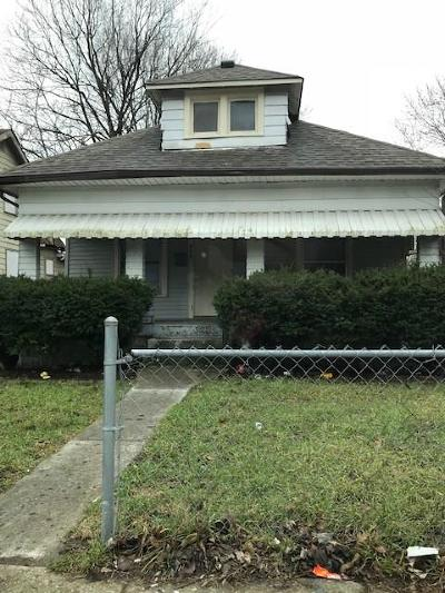 Indianapolis Single Family Home For Sale: 1215 West 25th Street