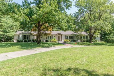 Indianapolis Single Family Home For Sale: 6741 Dover Road