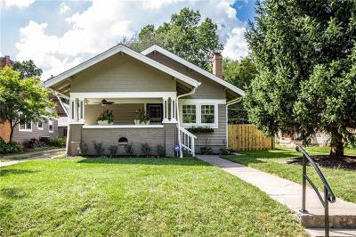 Indianapolis Single Family Home For Sale: 4408 North College Avenue
