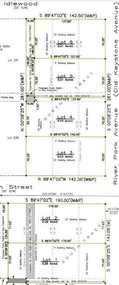 indianapolis Residential Lots & Land For Sale: 7902 North Keystone Avenue