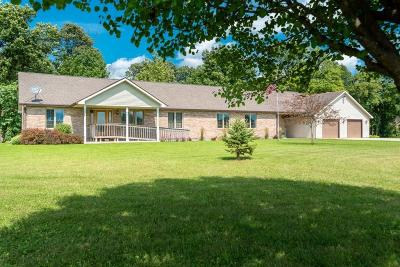 Delaware County Single Family Home For Sale: 13000 East Stanley Road