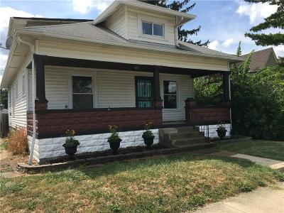 Beech Grove Single Family Home For Sale: 110 South 5th Avenue