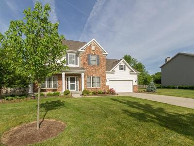 Zionsville Single Family Home For Sale: 4349 Weather Stone Crossing