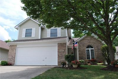 Fishers Single Family Home For Sale: 6025 Woodmill Drive